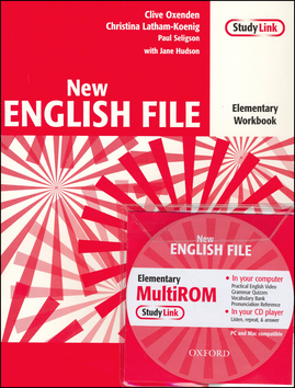 New English File Elementary.Workbook with key and MultiROM Pack