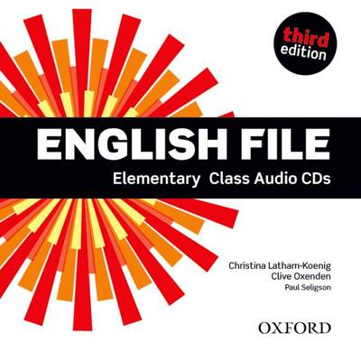 English File 3rd Edition Elementary: Class Audio CDs