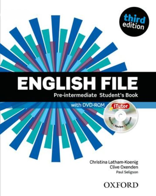 English File third edition Pre-Intermediate Student's Book and iTutor Pack
