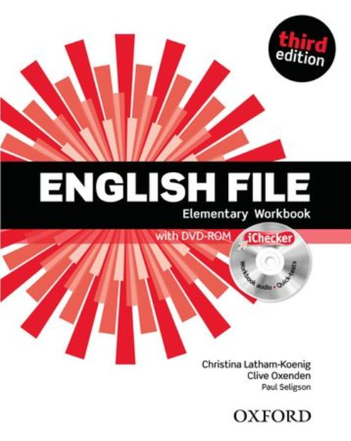 English File third edition Elementary Workbook and iChecker with Answer Booklet