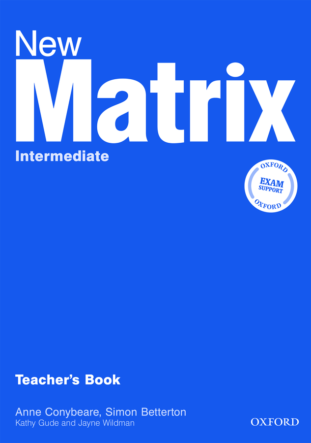 New Matrix Intermediate.Teacher's Book