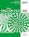 New English File Intermediate.Workbook with key and MultiROM Pack
