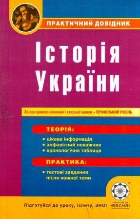 ПД Історія України Профільний рівень