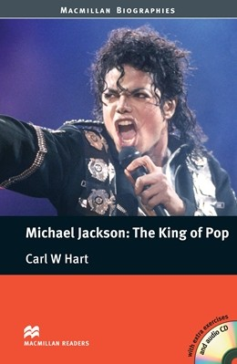 Macmillan Readers Michael Jackson  The King of Pop Pre-intermediate Level Reader and CD International