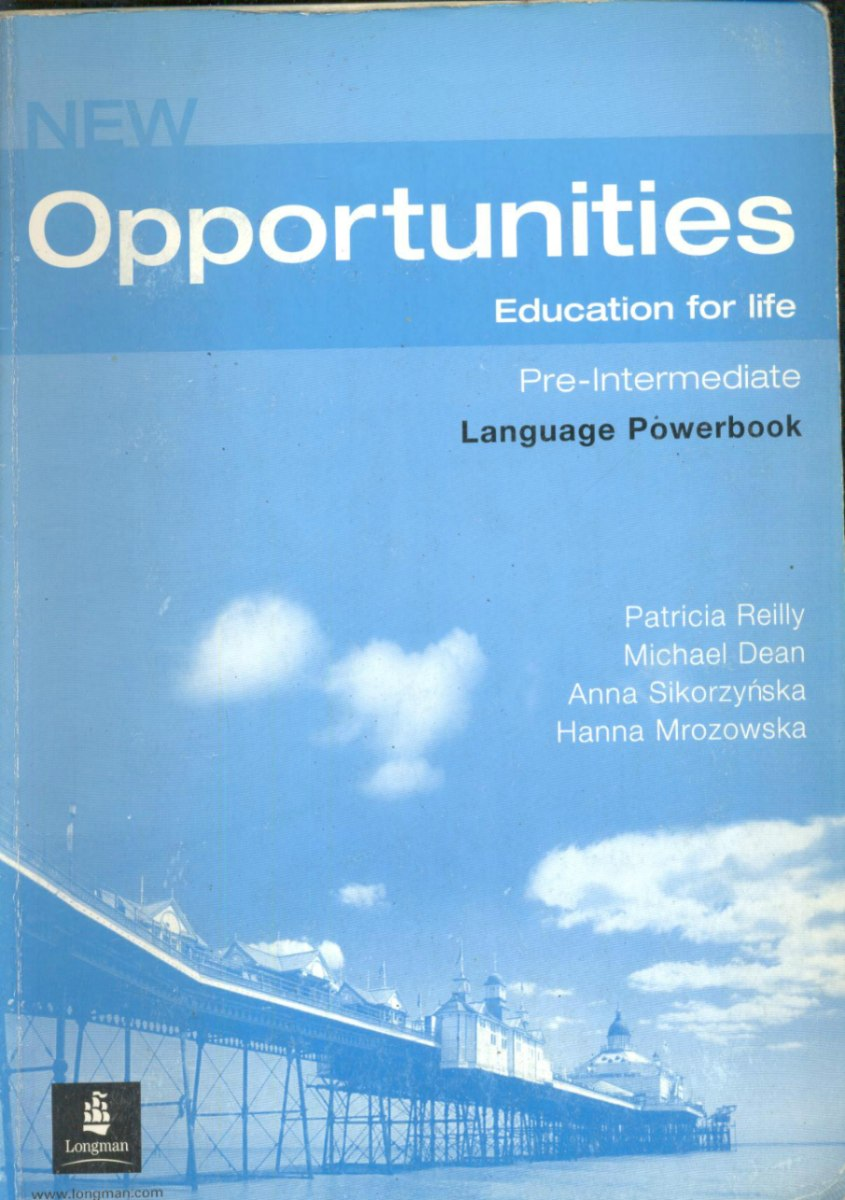 New Opportunities Intermediate Ответы Решебник