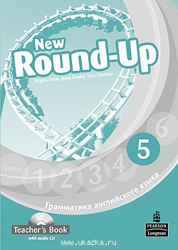 New Round-Up  Level 5 Teacher's Book with Audio CD