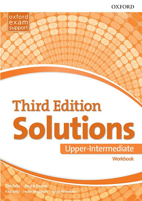 Solutions Upper-Intermediate Workbook and Audio Pack 3 ed