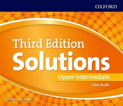 Solutions Upper-Intermediate Class Audio CDs (4 Discs) 3 ed