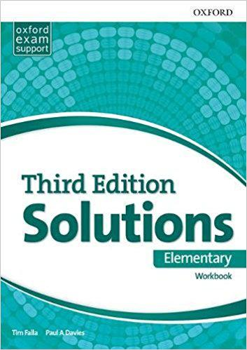 Solutions Elementary Workbook and Audio Pack (UA) 3 edition