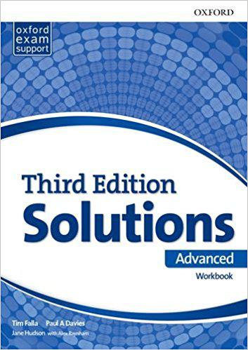 Solutions Advanced Workbook and Audio Pack 3rd edition