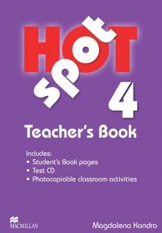 Level 4 Hot Spot Teacher's Book & CD