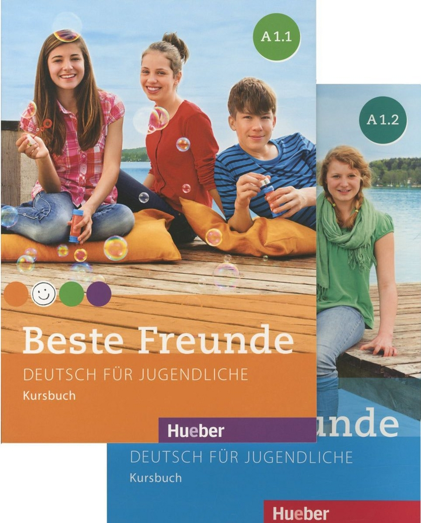 Beste Freunde, Paket Kursbuch A1/1+A1/2 (шт.)