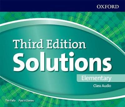 Solutions Elementary Class Audio CDs (4 Discs) 3 ed