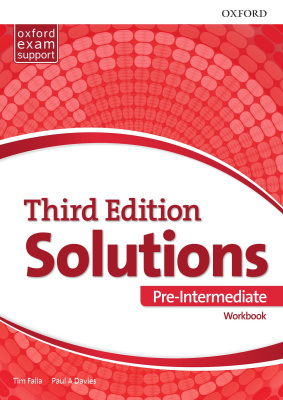 Solutions Pre-Intermediate Workbook and Audio Pack (UA) 3 edition
