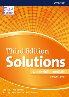 Solutions Upper-Intermediate Students Book 3 edition