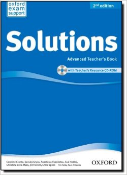 Solutions Advanced Teacher's Book and CD-ROM Pack