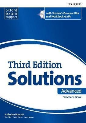 Solutions Advanced Teacher's Book and CD-ROM Pack 3 ed