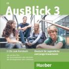 AusBlick 3. 2 Audio-CDs zum Kursbuch