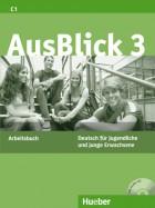 AusBlick 3 Arbeitsbuch mit integrierter Audio-CD
