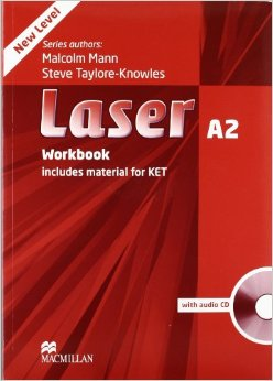 Laser 3rd Ed A2 Workbook with Key + Audio CD Pack