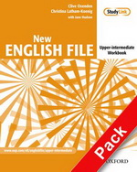 New English File Upper-Intermediate.Workbook with key and MultiROM Pack