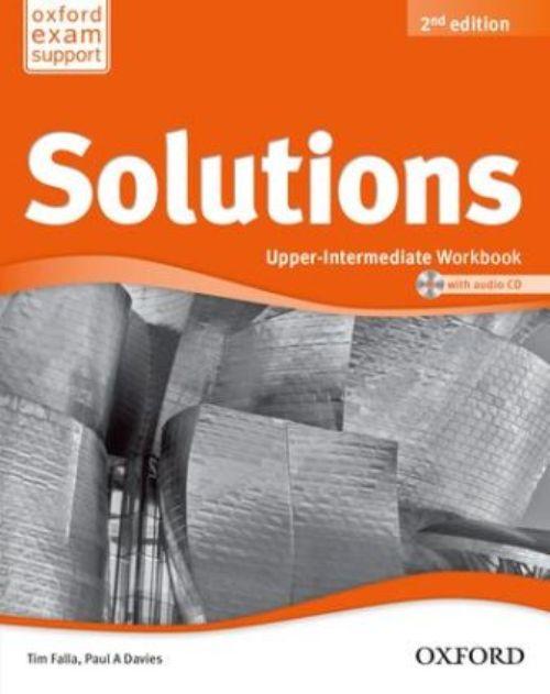 Solutions Upper-Intermediate Workbook and Audio CD Pack
