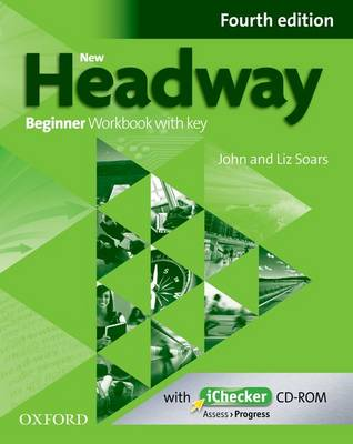New Headway 4th Edition Beginner Workbook With Key and iChecker Pack