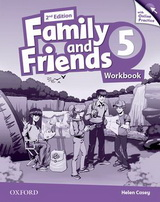 Family and Friends 5.Workbook. Second edition