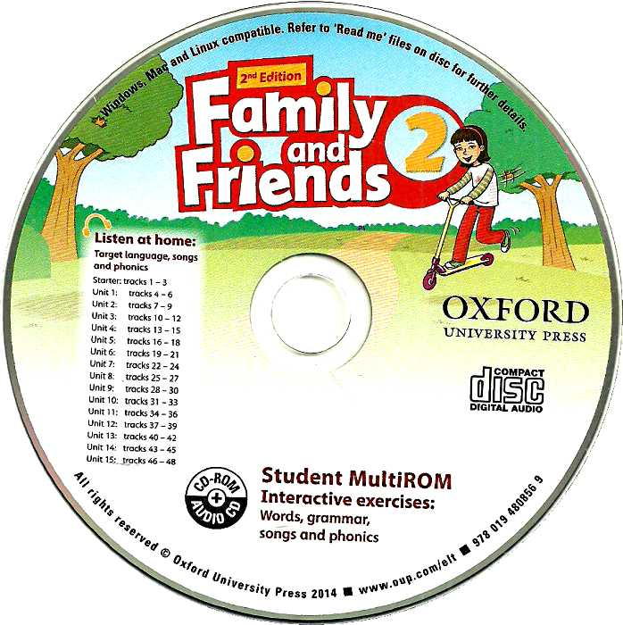 Family and Friends 2. Class Audio CDs Second edition