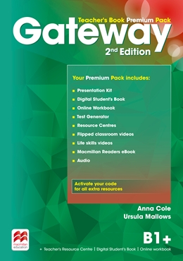 Gateway 2nd Edition B1+ Teacher's Book Premium Pack