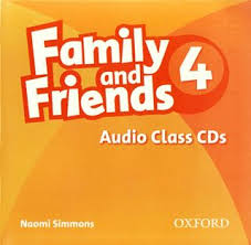 Family and Friends 4.Class Audio CD. Second edition.