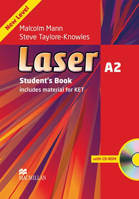 Laser 3rd Ed A2 Students Book and CD Rom Pack + MPO