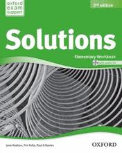 Solutions Elementary Workbook and Audio CD Pack (UA)
