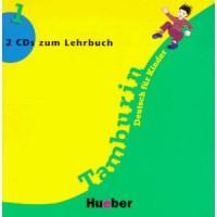 Tamburin 1. 2 Audio-CDs zum Lehrbuch