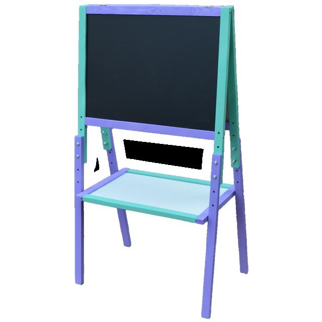Мольберт Растішка (Регульована висота) фіолетово-блакитний