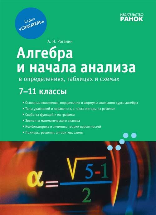 Алгебра у визначеннях формулах і таблицях 7-11 класи