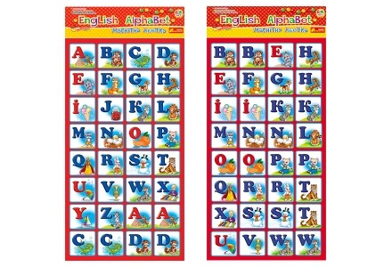 Магнитная азбука Английский алфавит