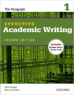 Effective Academic Writing: Level 1 Student Book Pack
