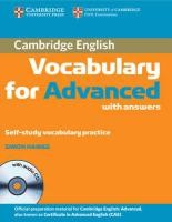 Cambridge Vocabulary for Advanced Edition with answers and Audio CD