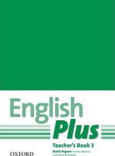 English Plus 3 Teacher's Book with photocopiable resources