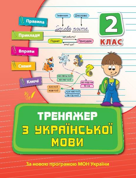 Тренажер з української мови 2 клас