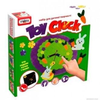 Набір для творчості Toy clock Лісова галявина
