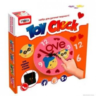 Набір для творчості Toy clock Закохані