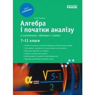 Рятівник Алгебра у визначеннях формулах і таблицях