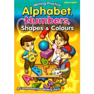Прописи Alphabet, Numbers, Shapes & Colours Writing Practice