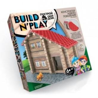 Конструктор Побудуй свій будинок - Build N 'Play