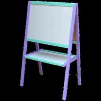 Мольберт розумник фіолетово-блакитний