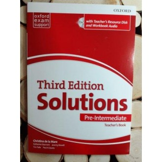Solutions Pre-Intermediate Teacher's Book and CD-ROM 3rd edition