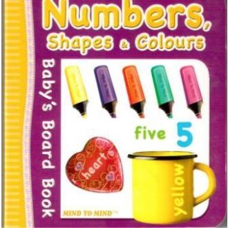 Книжка-словник Numbers, shapes & colours