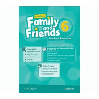 Family and Friends 6 Teacher's Book Plus Pack 2E